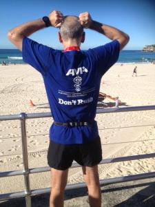 "AMA NSW team shirt ""Don't rush"""